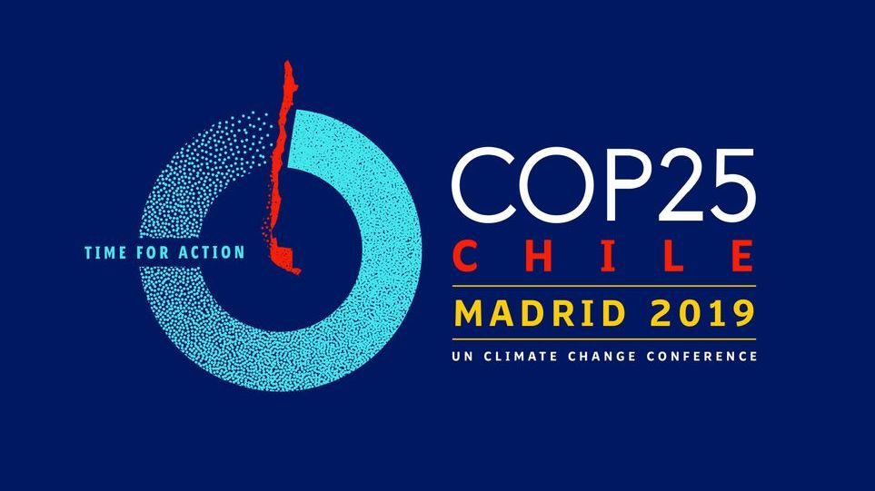 Logo der Cop 25 in Madrid