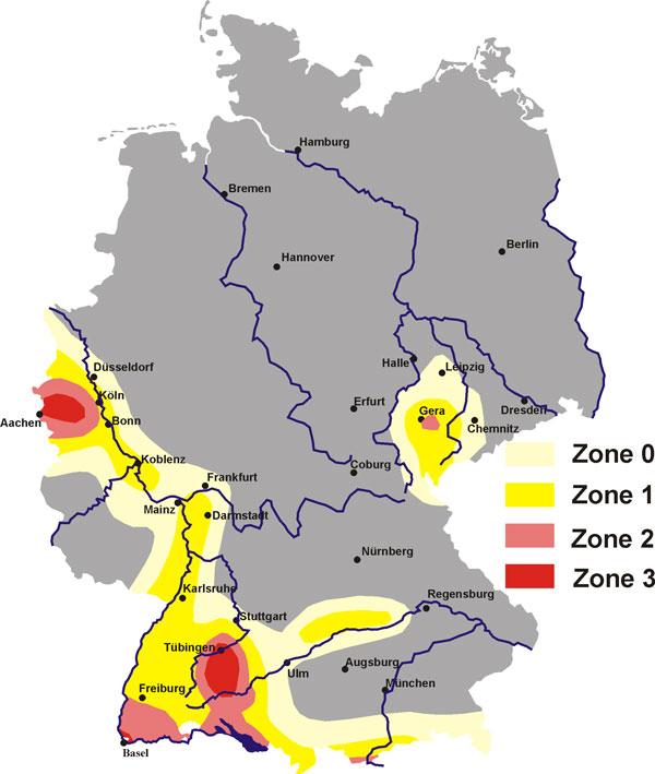 Erdbeben Auch Fur Atomkraftwerke In Deutschland Eine Gefahr