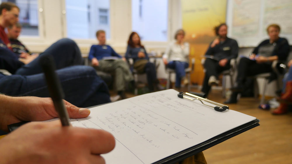 BUND-Akademie Workshop. Foto: Christian Schumacher / BUND