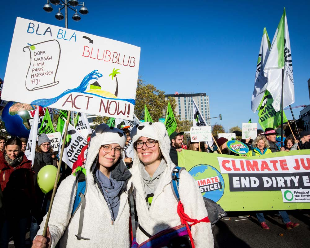 Demonstration zur COP23 in Bonn. Foto: Jörg Farys / BUND