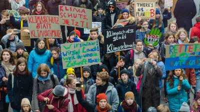 """Fridays for future""-Demonstration am 15.3.2019 in Berlin; Foto: BUNDjugend Berlin"