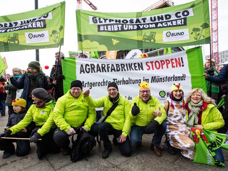 Demo gegen Glyphosat 2018