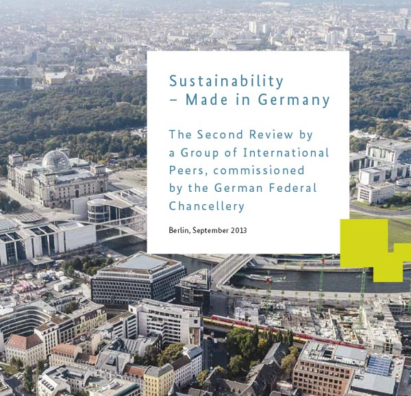 "Bericht ""Sustainability – Made in Germany"""