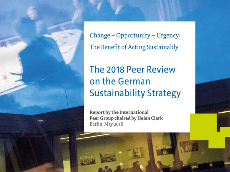"Bericht ""The 2018 Peer Review"""