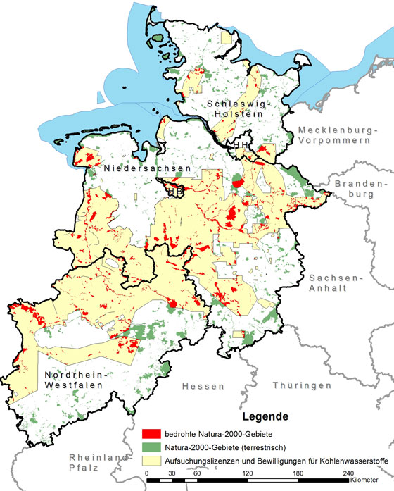 Fracking In Natura 2000 Gebieten Bund E V