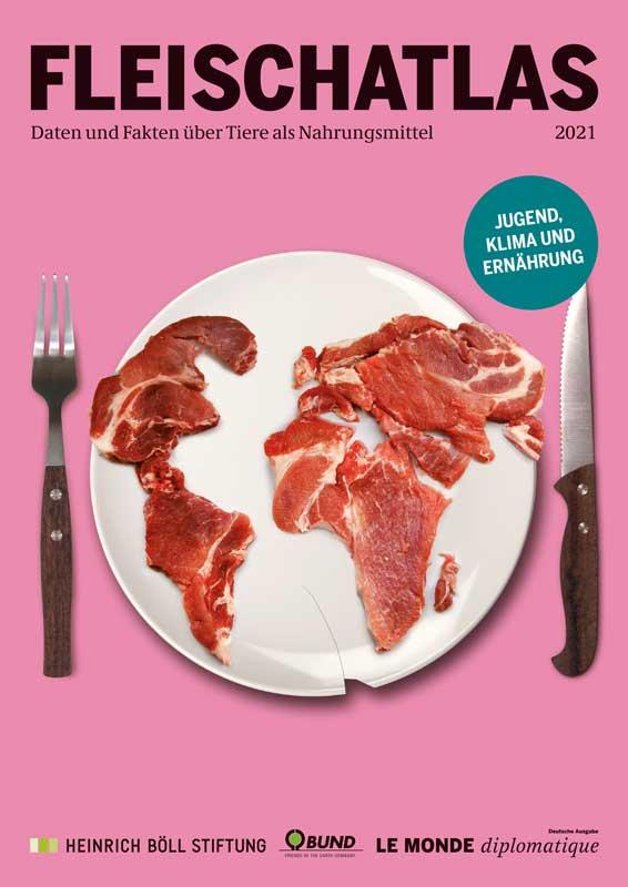 >> Der FLEISCHATLAS 2021 – Daten und Fakten über Tiere als Nahrungsmittel
