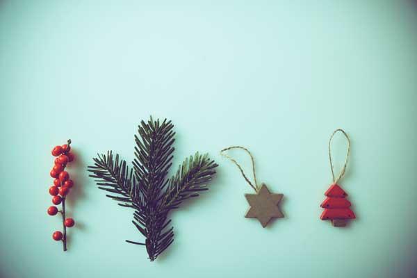 Gebastelte Weihnachtsdeko.Zu Weihnachten Natürlich Schmücken Bund E V